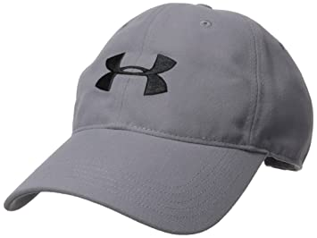 Amazon.com: Under Armour Mens Core Canvas Dad Cap, White (100)/Zinc Gray, One Size: Sports & Outdoors