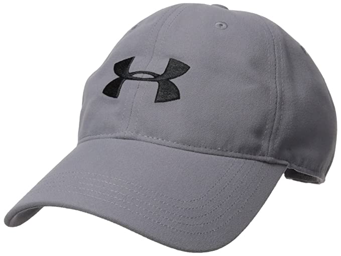 Under Armour Mens Core Canvas Dad Cap Gorra, Hombre, Gris (513), One Size: Amazon.es: Deportes y aire libre