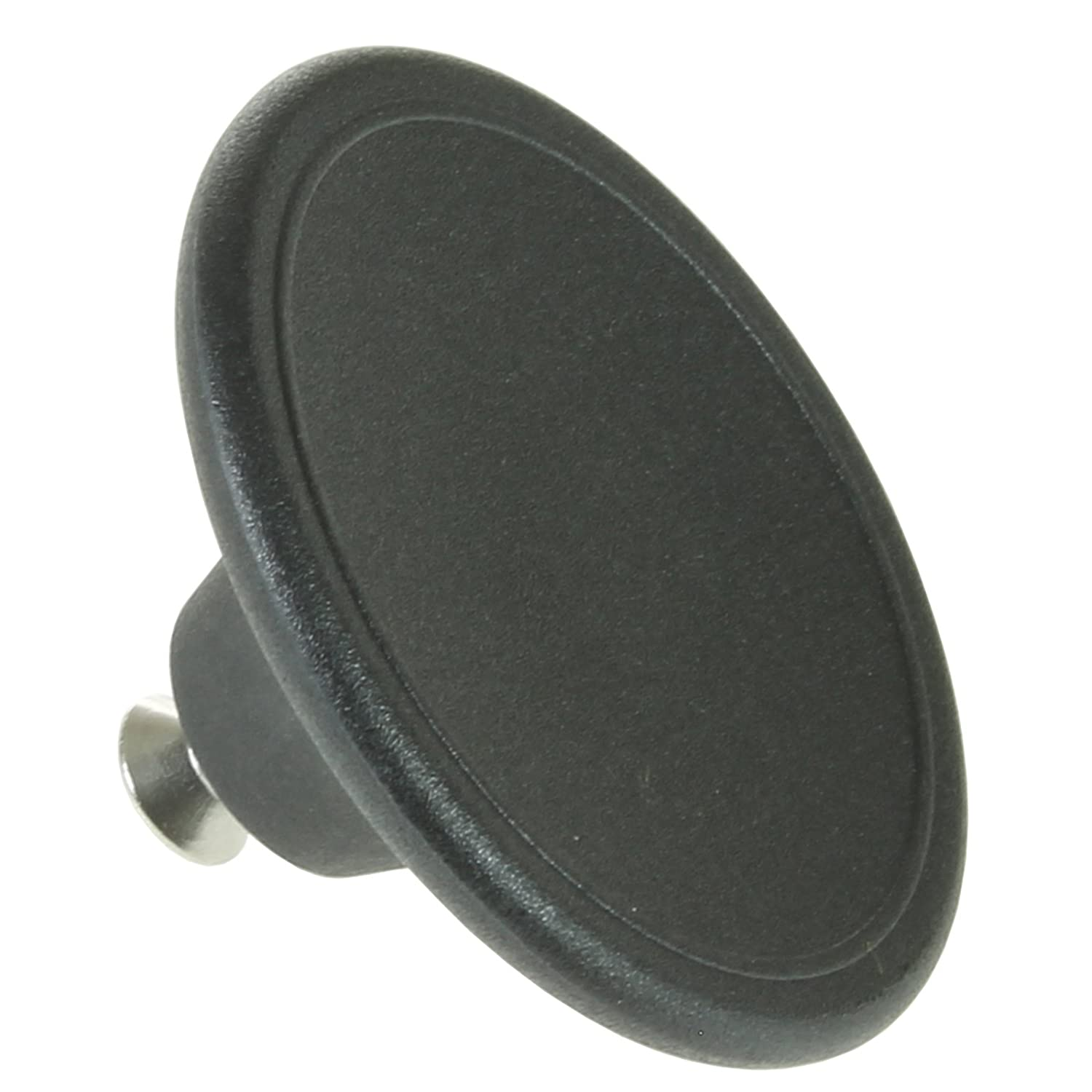 SPARES2GO Universal 5.5cm Large Handle Lid Knob For Slow Cooker Saucepan Casserole Dish (Black)