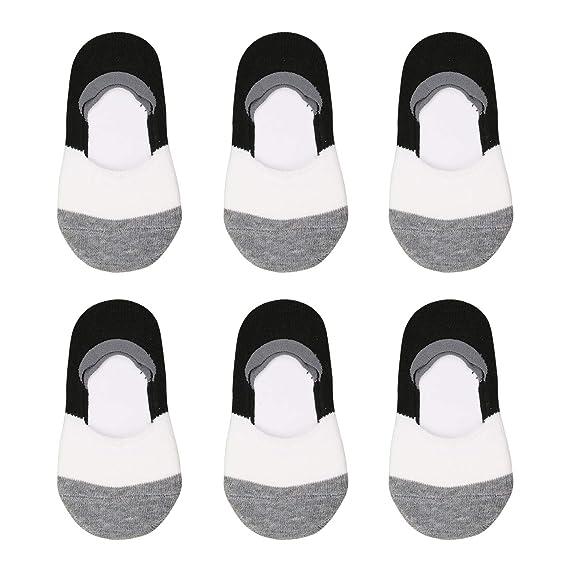 Amazon.com: VWU - Calcetines de algodón de corte bajo para ...