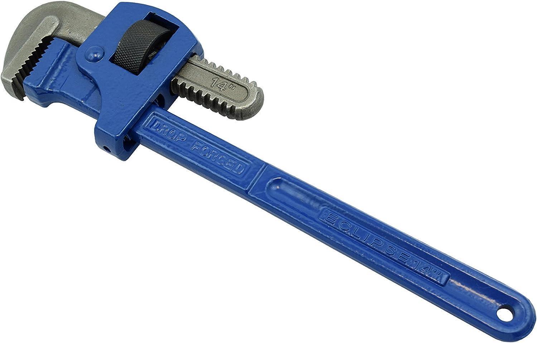 Spear /& Jackson espw10/Stillson patr/ón llave de tubo, azul, 25,4/cm