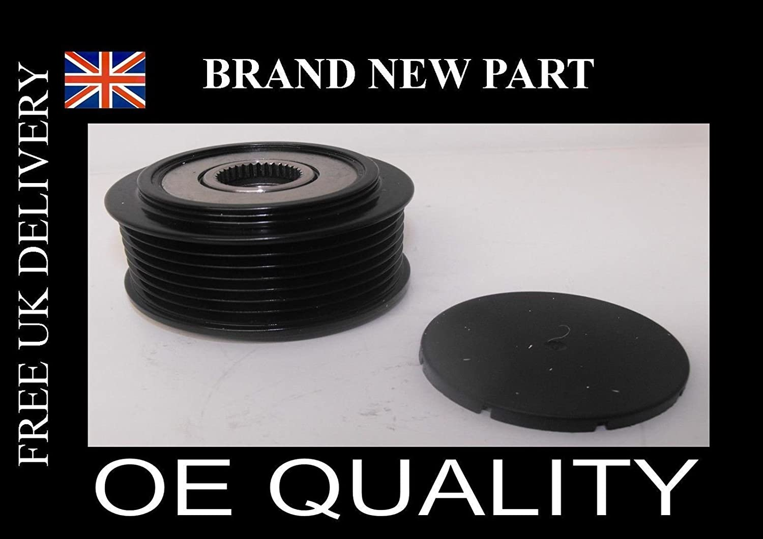Vauxhall Zafira 1.9 Diesel clutch pulley with free tool QX COMPONENTS