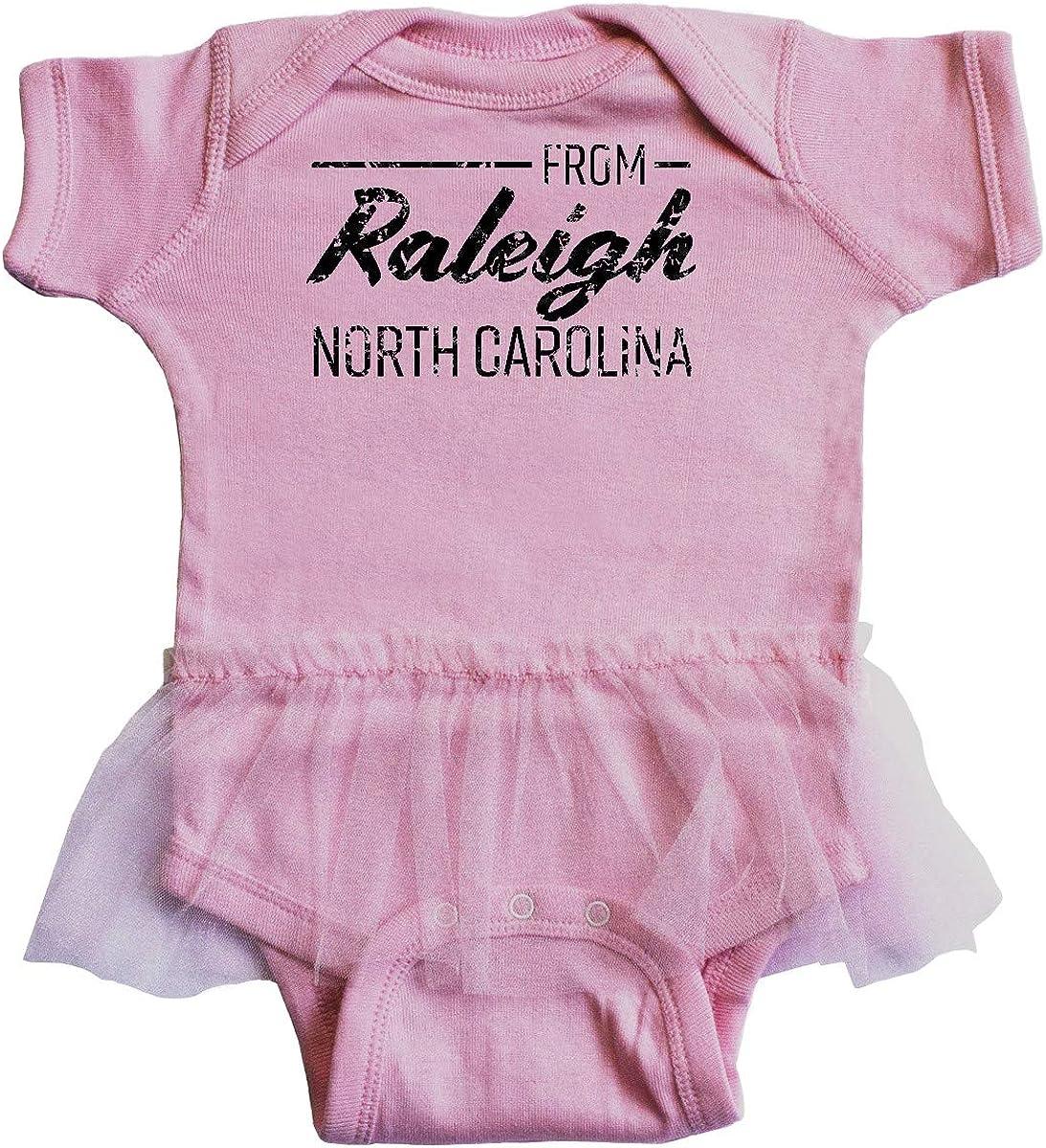 inktastic from Raleigh North Carolina in Black Distressed Infant Tutu Bodysuit