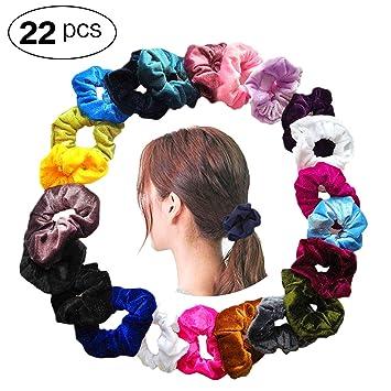 Beauty & Health 2019 New Style New 10 Pcs Women Hair Braider Tool Fashion Velvet Elastic Hair Bands Scrunchy For Women Or Girls Hair Accessories 30