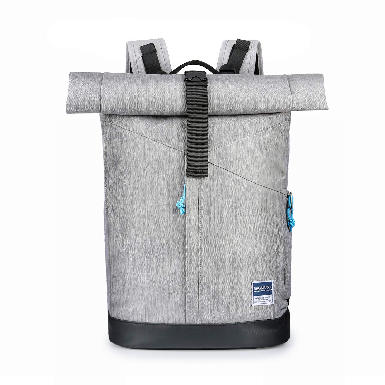 10b3c288928e BAGSMART Laptop Backpack Business Backpack Daypack School Backpack Work Bag  Rolltop Travel Backpack for Men and Women Fit up to 15.6 Inch Laptop, 22L