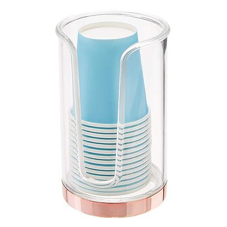 mDesign Soporte para Vasos de Usar y Tirar - Dispensadores ...