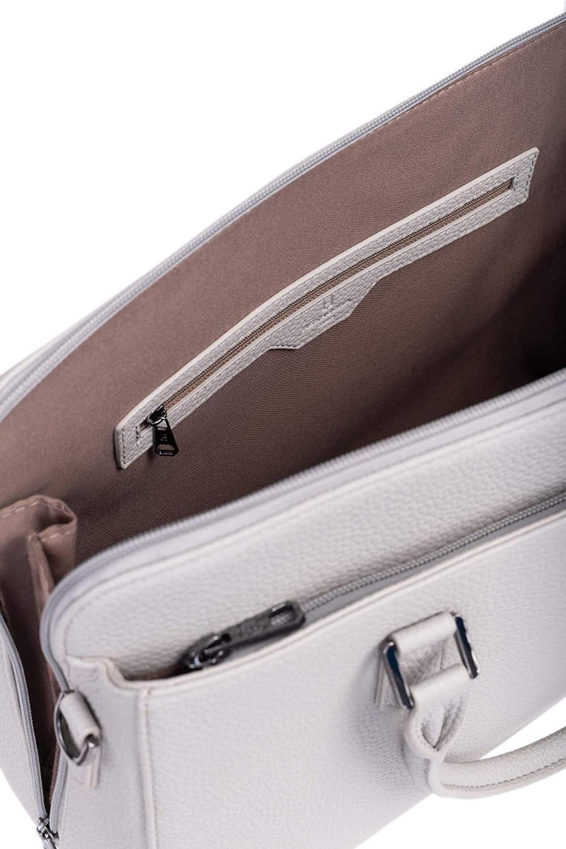 HEXAGONA Paris, Handtasche für Damen Linea Madrid Bag, Grau