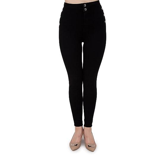 Guess Pantalone W64A38 D2990 BAKT Vita Alta Bonny W64A38 D2990:  Amazon.co.uk: Clothing