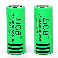 LiCB 26650 Battery 8000mAh