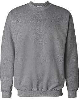 b5a52eab Hanes Men's Ultimate Cotton Heavyweight Crewneck Sweatshirt at ...