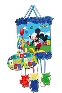 Mickey Mouse - Piñata Perfil Clubhouse balones, 33X46 cm ...