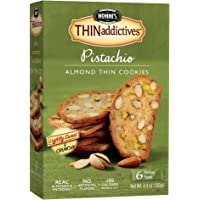 Nonnis Thinaddictives 4.4 Ounce Pistachio Almond (6-Count)