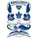Toronto Maple Leafs NHL Hockey STACHETATS Temporary Tattoos .. 14 Tattoos in Pack .. Easy To Apply and Remove .. New