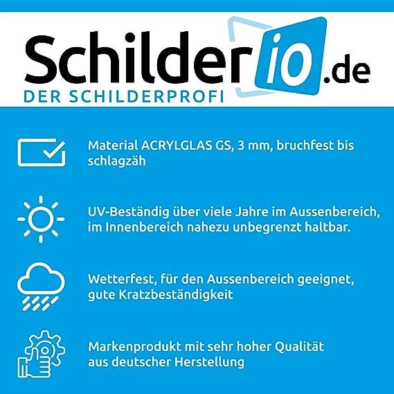 Saugnapfschild Schild Jagdschutz Bayern Acrylschild 3mm Mit Saugnapf 30mm Ca 90x125 Mm Für Scheibeninnenbefestigung Auto