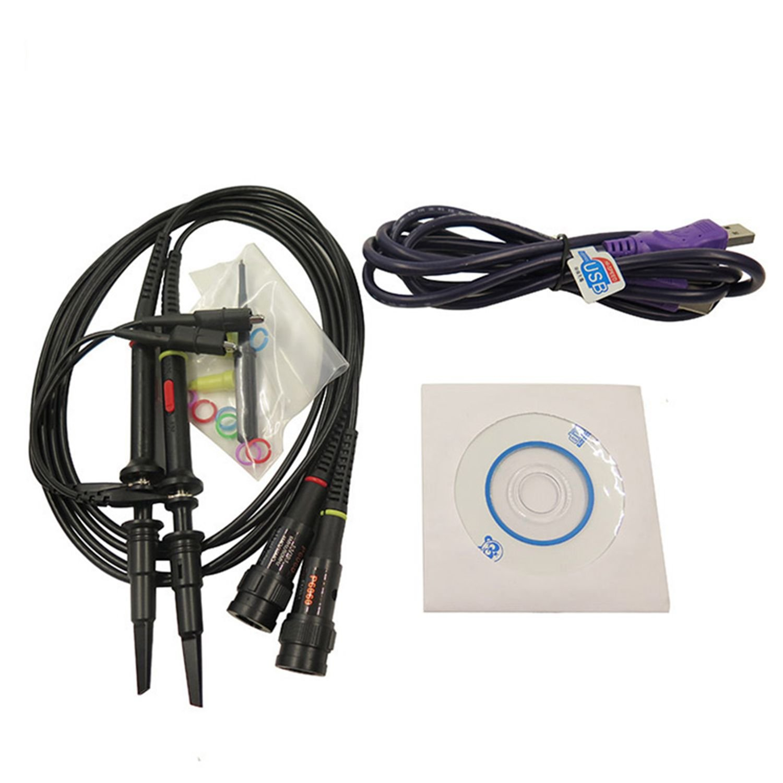 ISDS210A USB Virtual Oscilloscope Bandwidth 40M+Dual Channel+