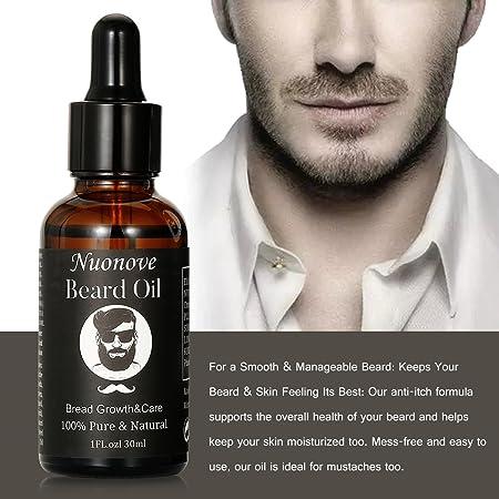 Aceite de Barba para Hombres, Aceite De Barba, Aceite Para Barba, Aceite De Barba Natural,Aceite Nutritivo Para Una Barba Suave, el cuidado de la barba larga y corta 30ml