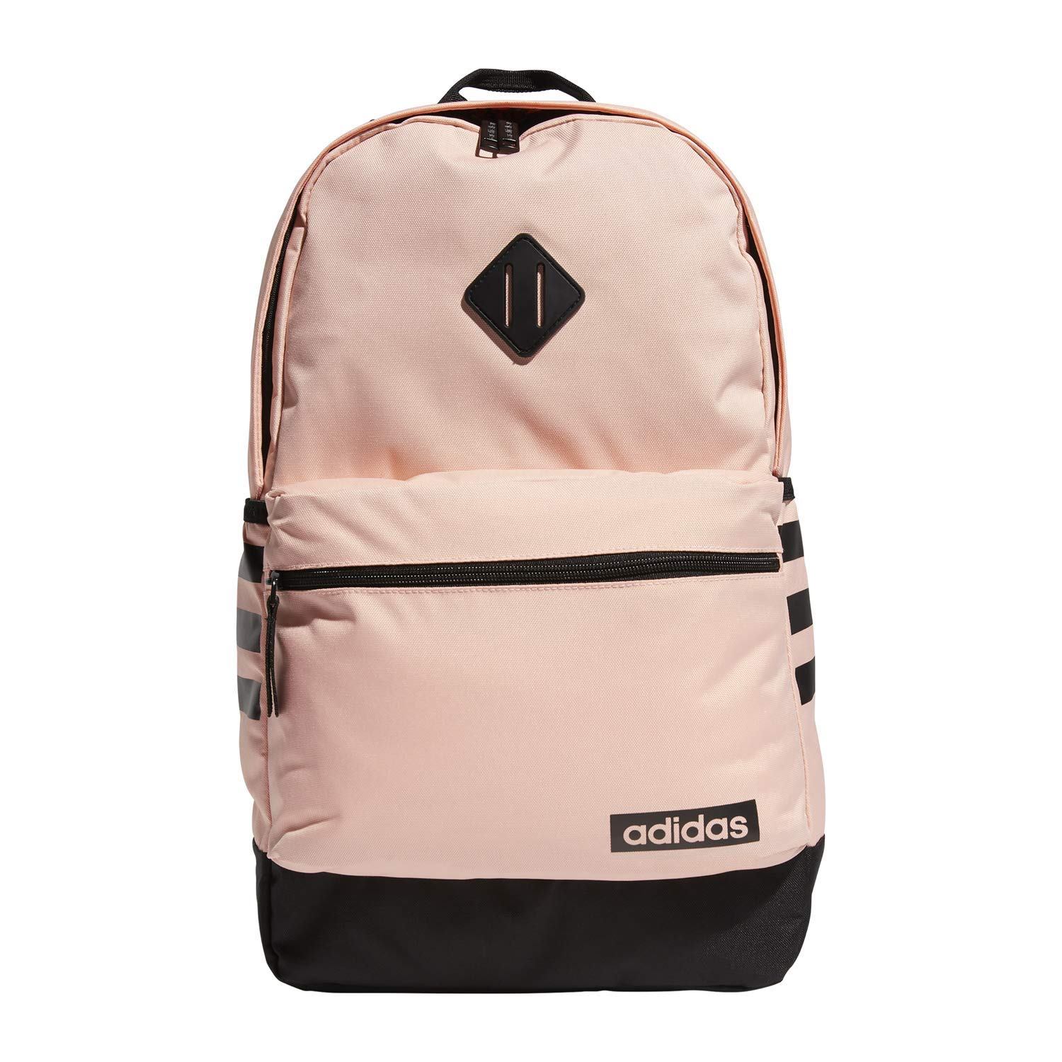 adidas Unisex Classic 3S Backpack, Glow Pink/Black, ONE SIZE by adidas