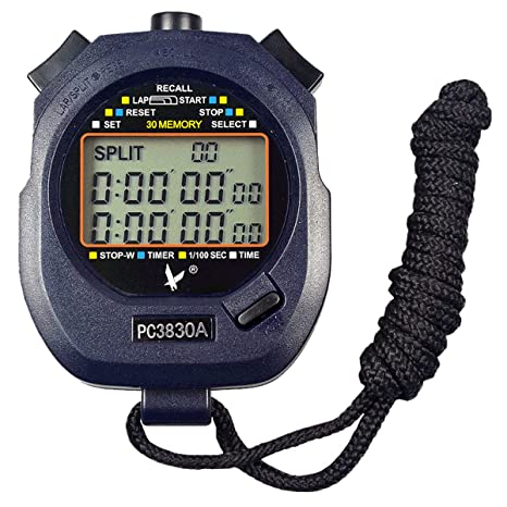 2374fd977f14 Cronómetro digital profesional portátil LCD