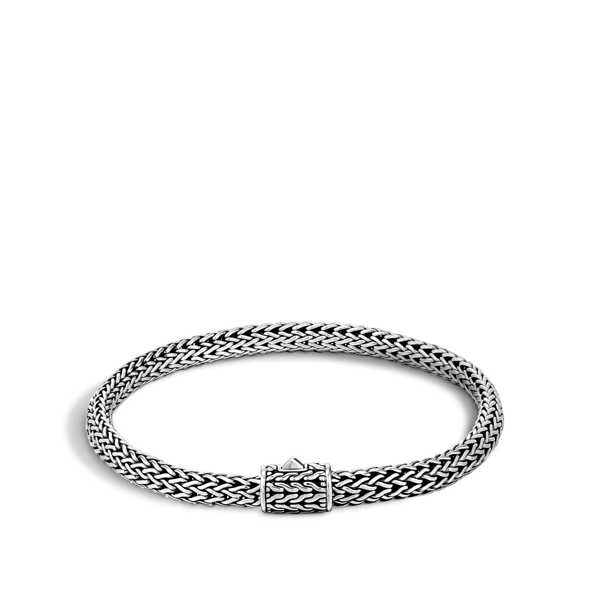 John Hardy Women's Classic Chain Silver Extra-Small Bracelet, Size S