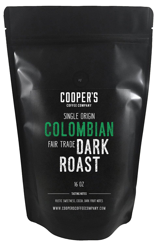colombian dark roast coffee beans micro lot single origin whole coffee beans farm gate