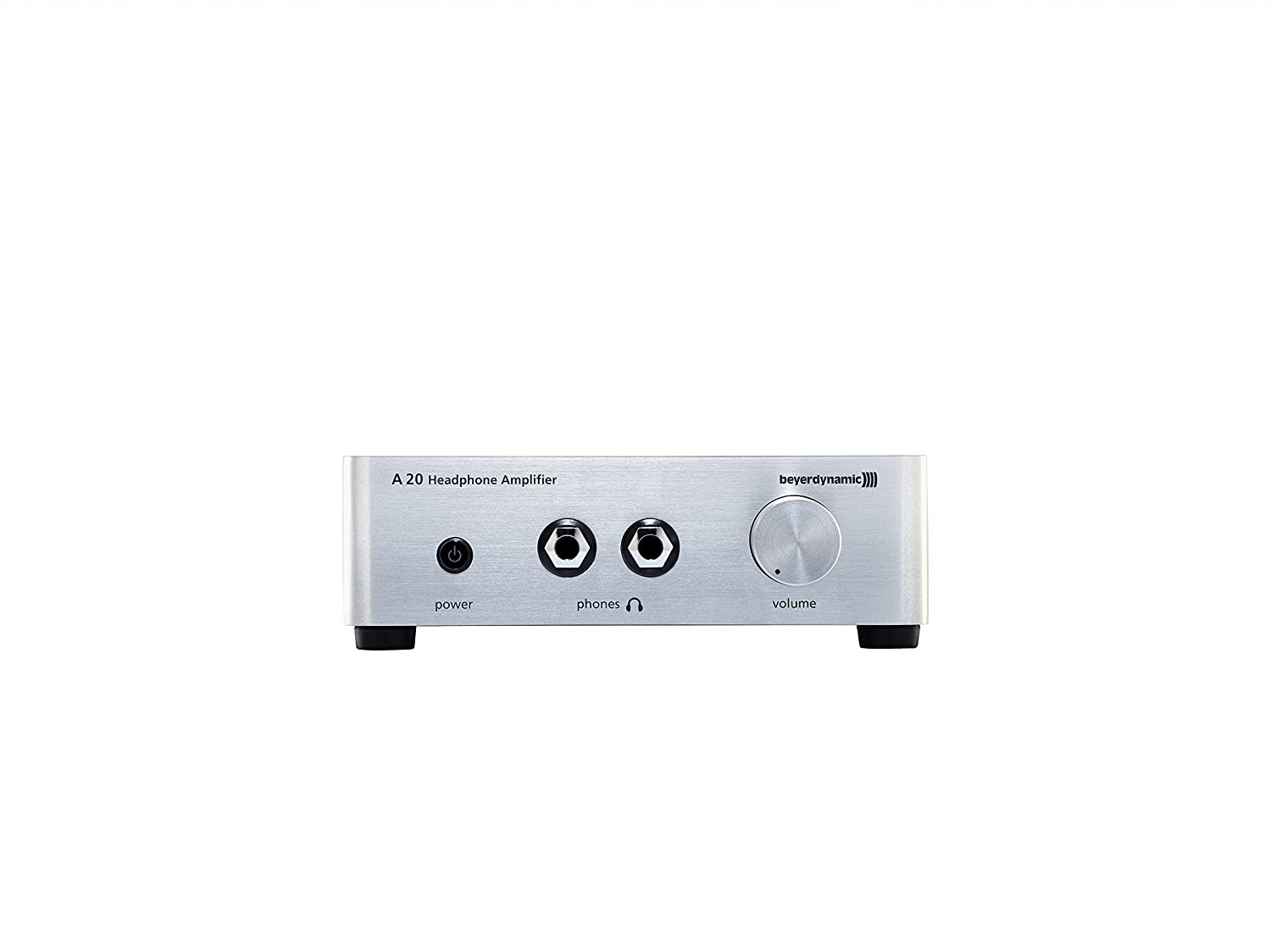 Beyerdynamic A20 Headphone Amplifier Silver Home Stereo Volume Control In Electrical Engineering Audio Theater