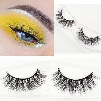 ca408fc2c63 Miss Kiss 3D Mink Fur Eye Lashes Fake Eyelashes 100% Siberian Mink Hair  Hand-