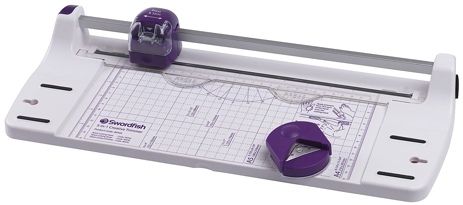 Swordfish A4 5-in-1 Creative Sheets Trimmer 5 in 1 Creative Trimmer