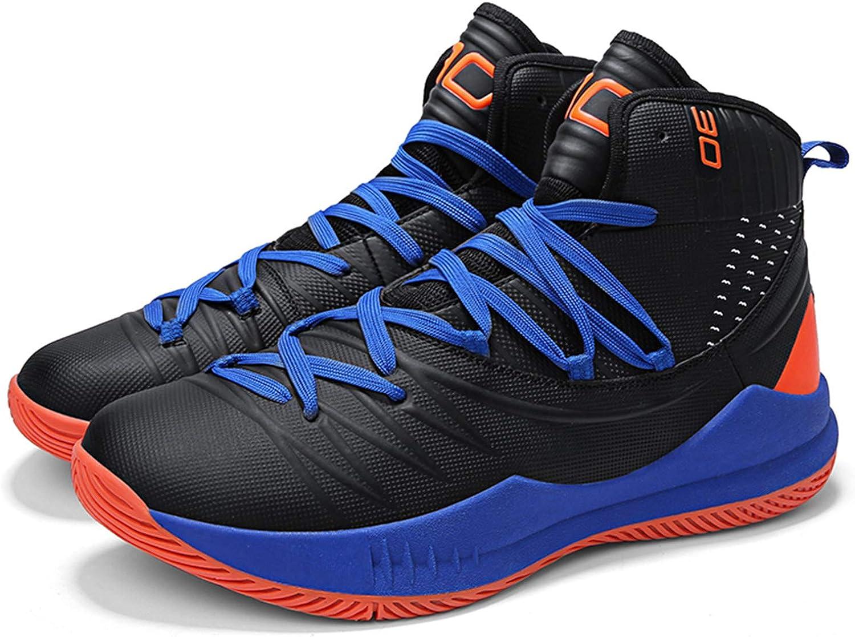 SINOES Homme Femme Baskets de Basket-Ball L/ég/ères Antid/érapantes Chaussures de Course Mode Sneakers High-Top Lace Up Chaussures de Sport Gymnase Entra/înement Chaussures de Athl/étique