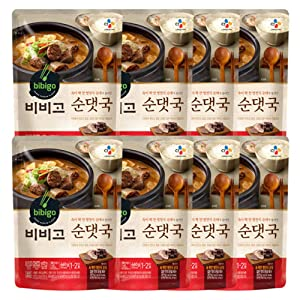 [ 8 Packs ] CJ Bibigo Korean Soondaeguk 순댓국 460g