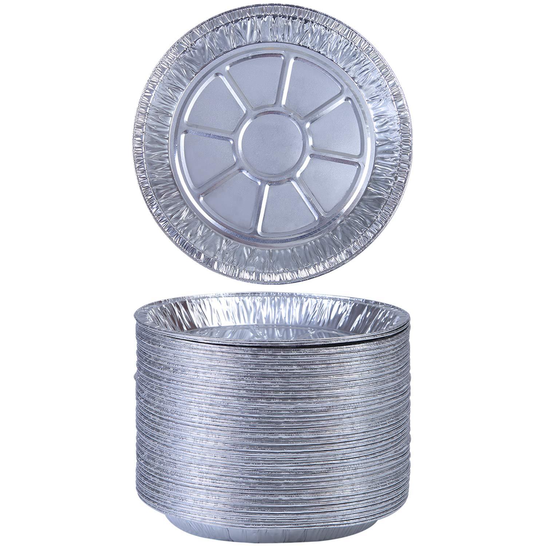 Aneco 40 Pieces 9 Inches Pie Pans Disposable Aluminum Foil Pie Plates for Baking, Cooking by Aneco