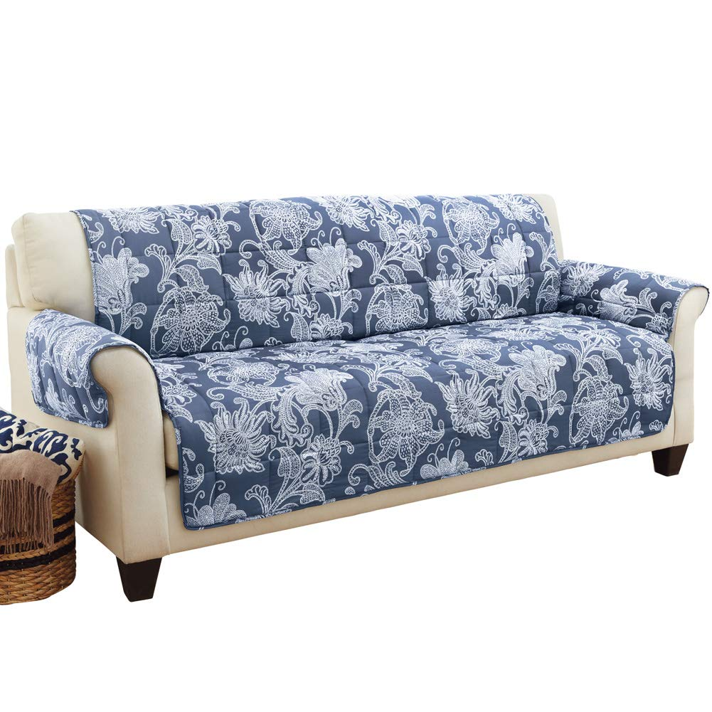 Amazon.com: Collections Etc Elnora Floral Quilted Furniture ...