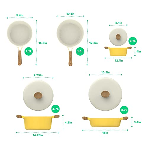 Vremi Ceramic Nonstick Cookware