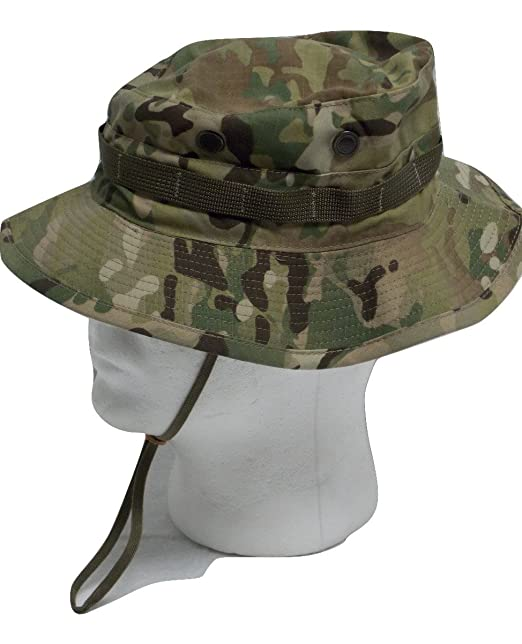 6d7128d80cfc US Army Issue Multicam OCP Boonie Cap Bush Hat Sun HOT Weather (7-1/4) at  Amazon Men's Clothing store: