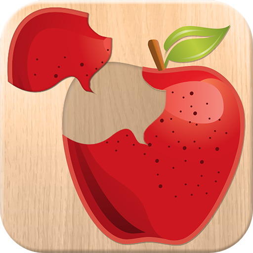 (Food puzzle for kids - free fun educational game for preschool children; learn fruits & vegetable)