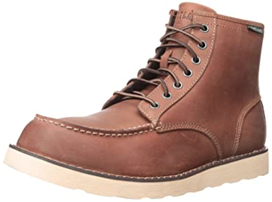 Eastland Lumber Up Oxblood Suede Mid Lace Moc Workman S Boot