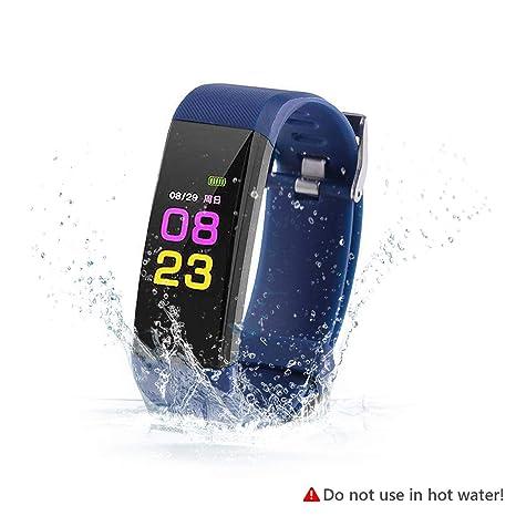 SAVFY Montre Connecté Bracelet Connecté, Tracker Activité Sport Fitness Tracker Étanche IP67 Montre Cardio avec Calories/Notifications/Podometre/Distance ...