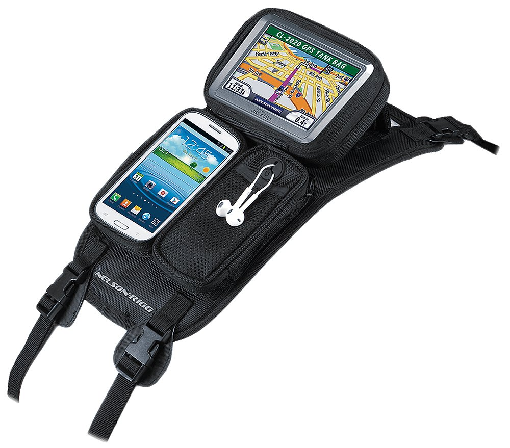 Nelson-Rigg CL-GPS-ST Black Strap Mount Journey GPS Mate by Nelson-Rigg