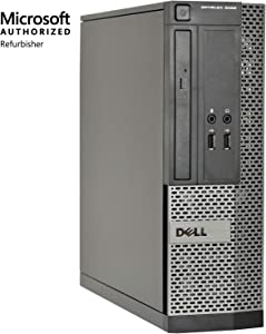 Dell OptiPlex 3020-SFF, Core i5-4570 3.2GHz, 8GB RAM, 240B Solid State Drive, DVDRW, Windows 10 Pro 64bit, (Certified Refurbished)