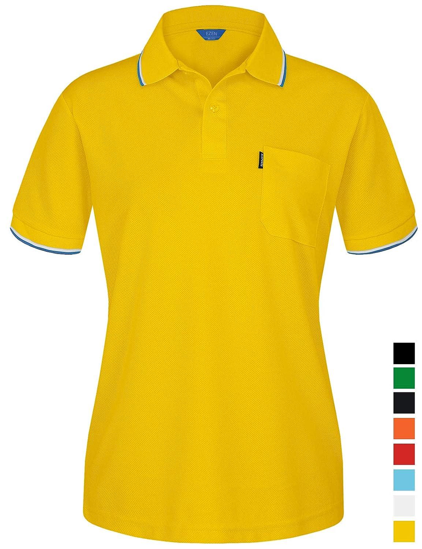 ベストセラー EZEN レディース SHIRT レディース B07GN63VYW Unirex098-yellow Large Unirex098-yellow Large Large|Unirex098-yellow, 印旛郡:309882c8 --- mcrisartesanato.com.br