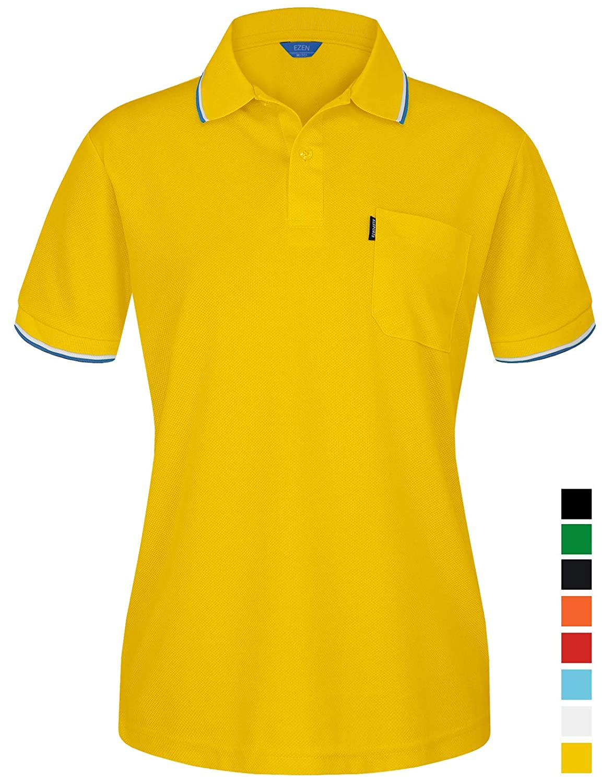 【中古】 EZEN B07GN7MR1N レディース SHIRT レディース Unirex098-yellow B07GN7MR1N Unirex098-yellow Small Small|Unirex098-yellow, 黒川郡:aad63cc8 --- mcrisartesanato.com.br