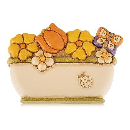 Thun Country Umidificatore Calorifero Variopinto Ceramica
