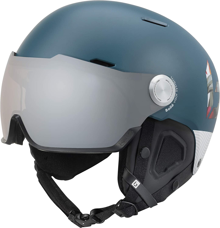 bollé Might Visor Premium Casco de esquí, Unisex Adulto