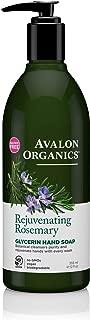 product image for Avalon Organics Glycerin Hand Soap Rejuvenating Rosemary, 12 oz