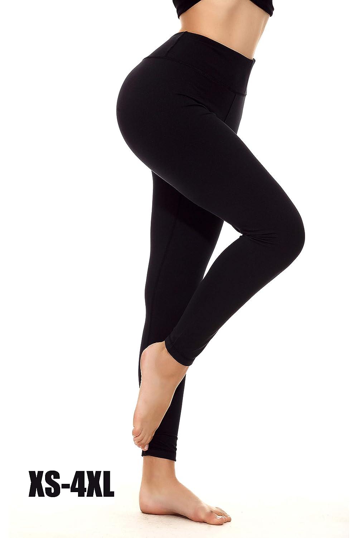 YOHOYOHA Yoga Pants for Women Plus Size Tummy Control Leggings for NFYJ1801-CA