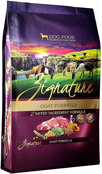Amazon Com Zignature Goat Formula Dry Dog Food 4 Pounds Pet