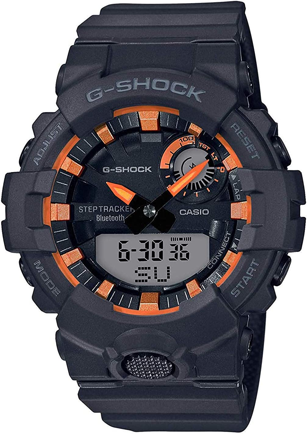 Casio G-Shock Men's GBA800SF-1A Analog-Digital Watch Black