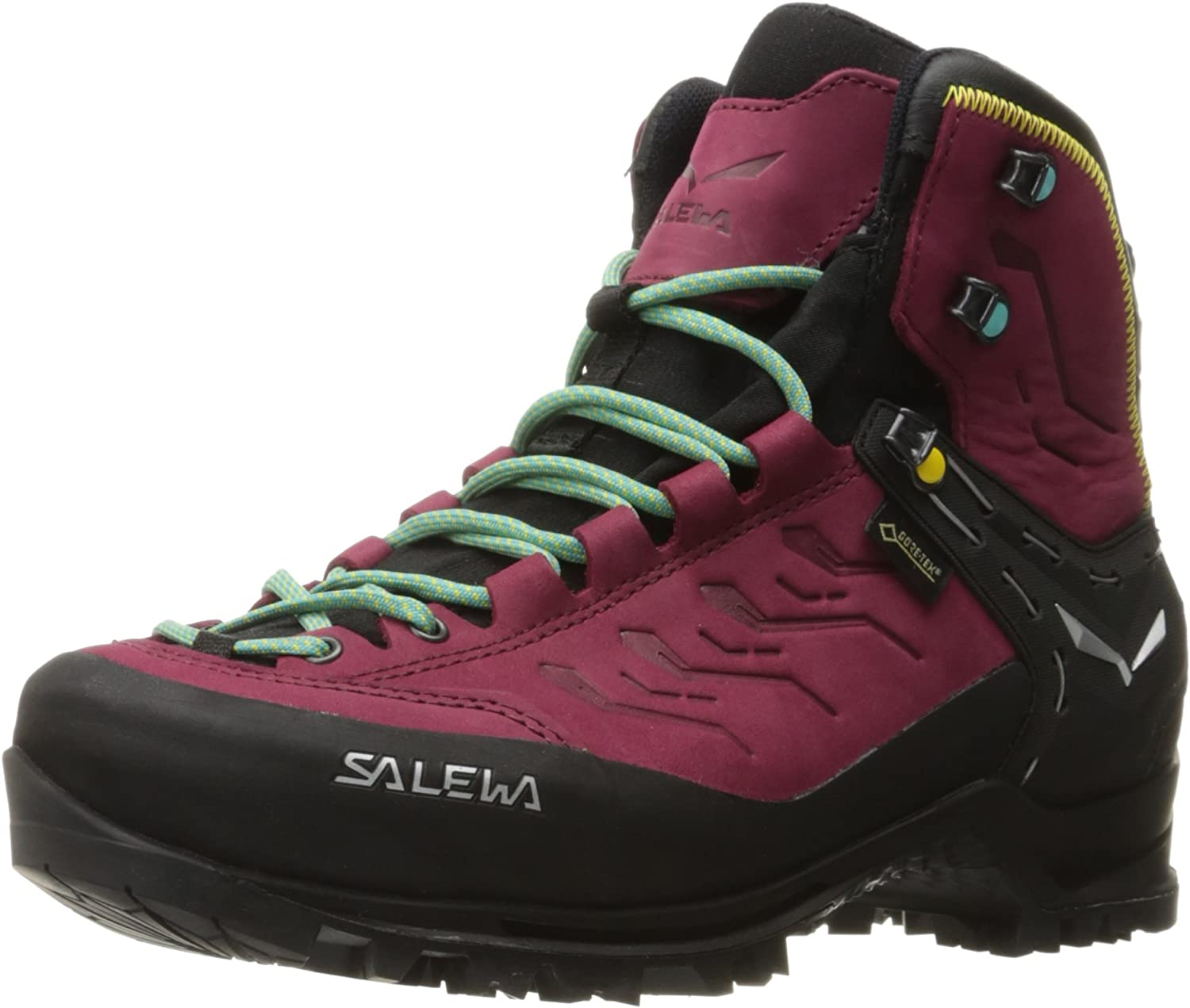 Salewa Women s Rapace GTX Mountaineering Boot Mountaineering, Alpine Climbing, Alpine Trekking Gore-Tex Waterproof Breathable Lining, Crampon Compatible, Durable Nubuck Upper