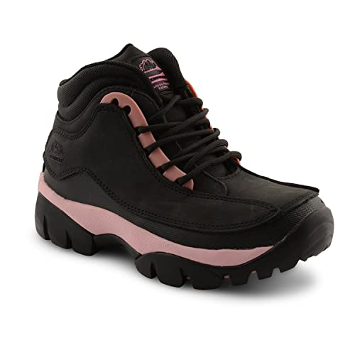 e98adc8f443 Groundwork Ladies Steel Toe Cap Lace Up Safety Boots Womens Oil Slip  Resistant Walking Protection Shoes  Amazon.co.uk  Shoes   Bags