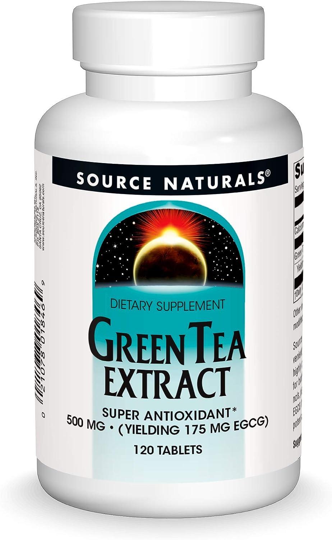 Green Tea Extract 500mg Source Naturals, Inc. 120 Tabs