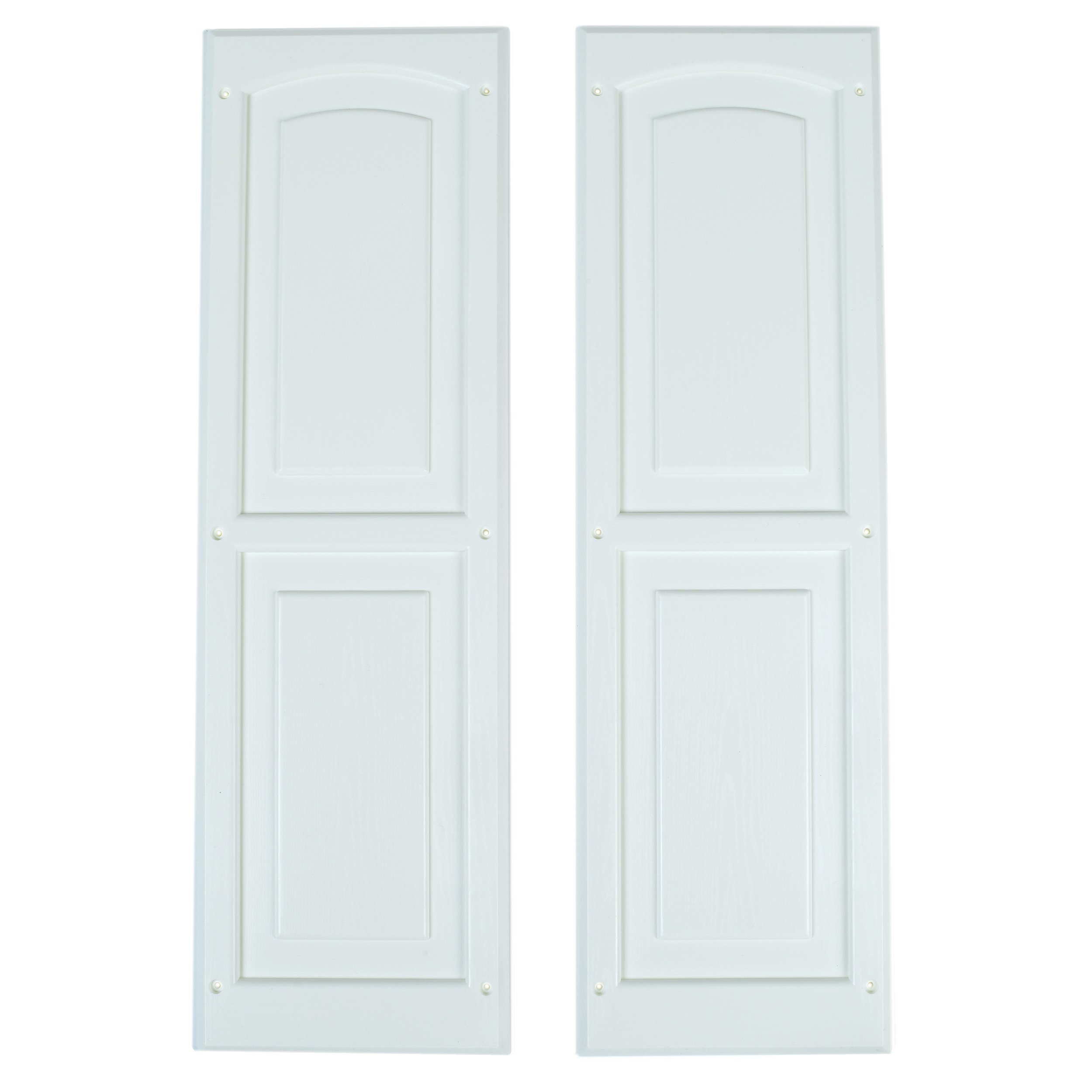 Handy Home Products Window Shutter Pair, 8'' x 24.5''